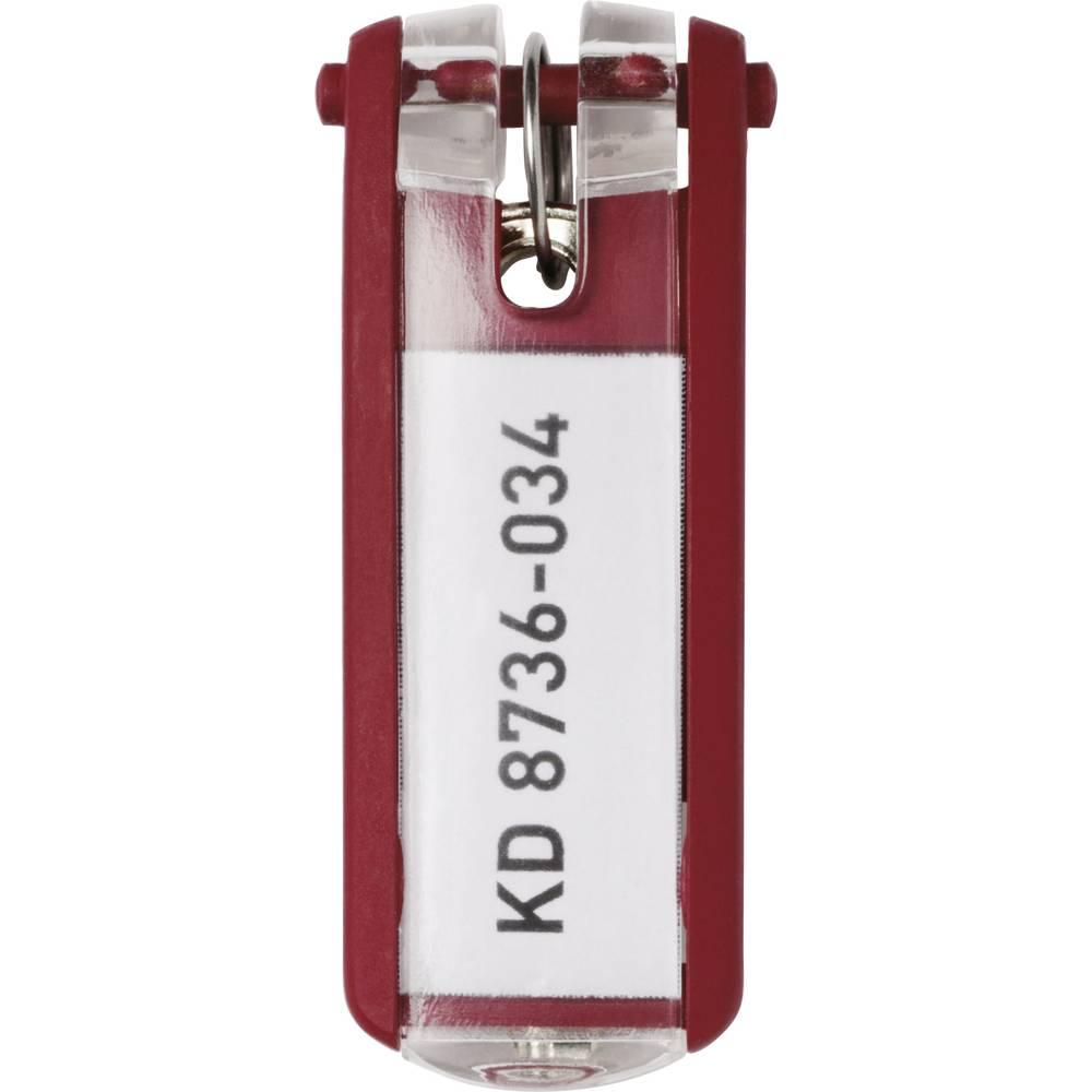 Durable věšák na klíče 195703 KEY CLIP - 1957 červená 6 ks