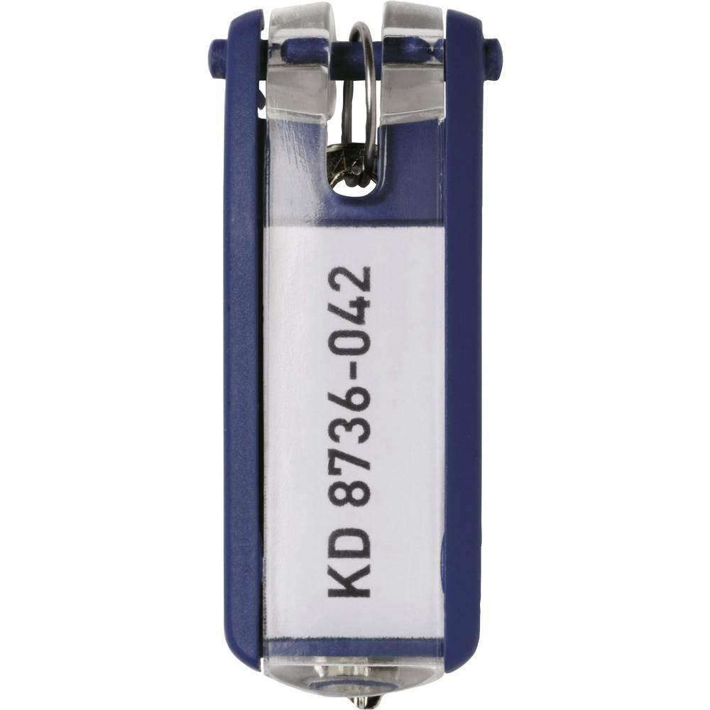 Durable věšák na klíče 195707 KEY CLIP - 1957 modrá 6 ks