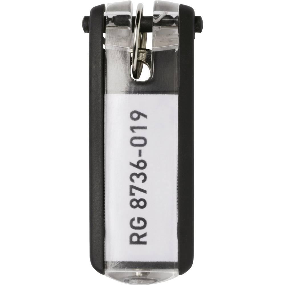 Durable věšák na klíče 195701 KEY CLIP - 1957 černá 6 ks