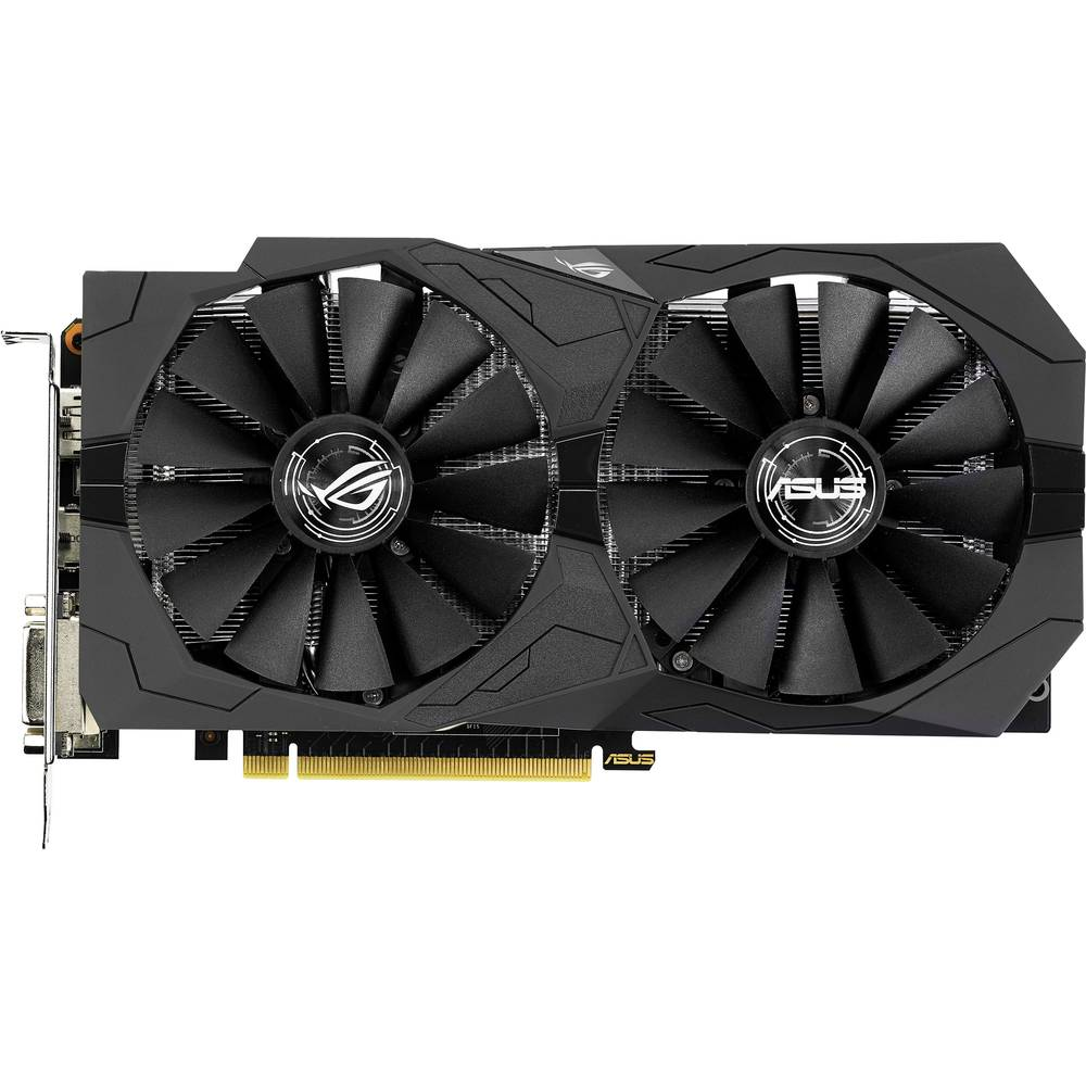 Asus grafická karta Nvidia GeForce GTX1050 Strix 2 GB GDDR5 RAM PCIe x16 HDMI™, DVI, DisplayPort