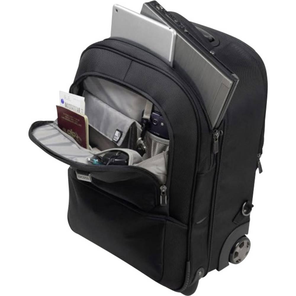 """Dicota batoh na notebooky Backpack Roller PRO 15-17.3 s max.velikostí: 43,9 cm (17,3"""") černá"""