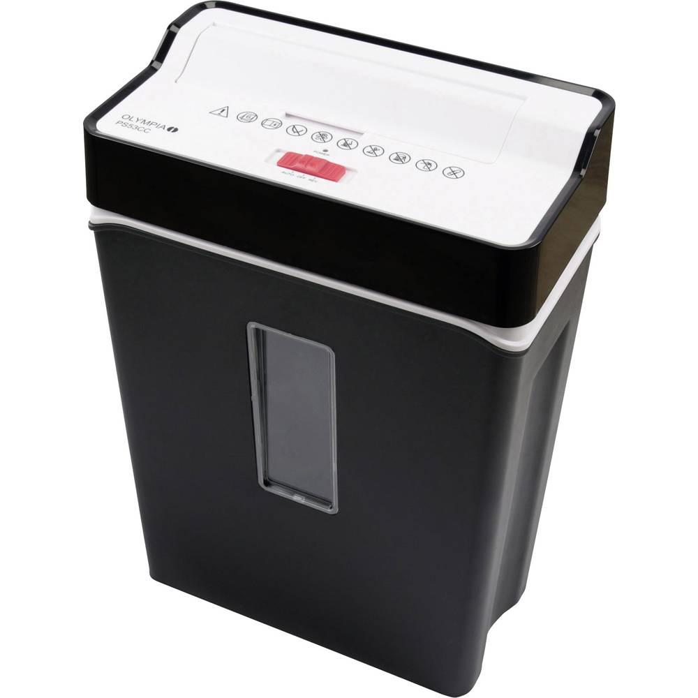 Olympia PS 53 CC skartovačka na kousky 4 x 40 mm 13 l Počet listů (max.): 6 Stupeň zabezpečení (skartovač) 4 Křížový řez kreditní karty