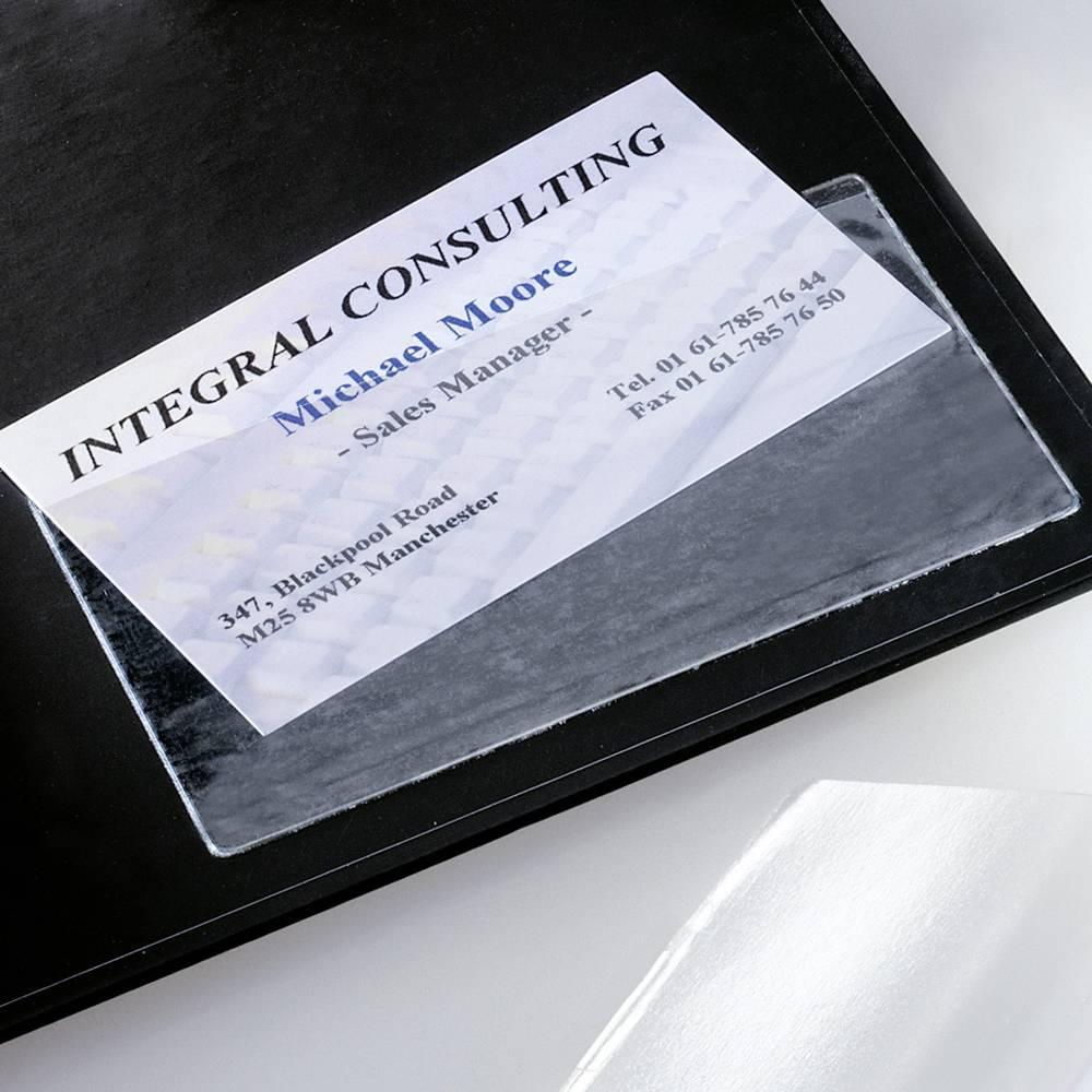 Sigel kapsička na vizitku, samolepící VZ115 max. počet karet:100 karet 100 ks