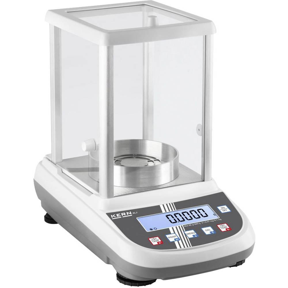Kern analyzační váha Max. váživost 250 g Rozlišení 0.0001 g přes napájecí zdroj do zásuvky vícebarevná