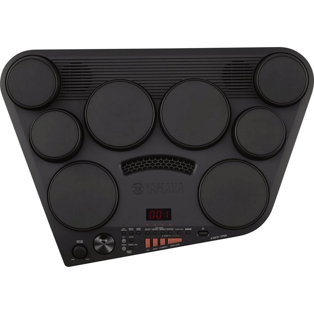Yamaha DD-75 elektronické bicí černá včetně paliček