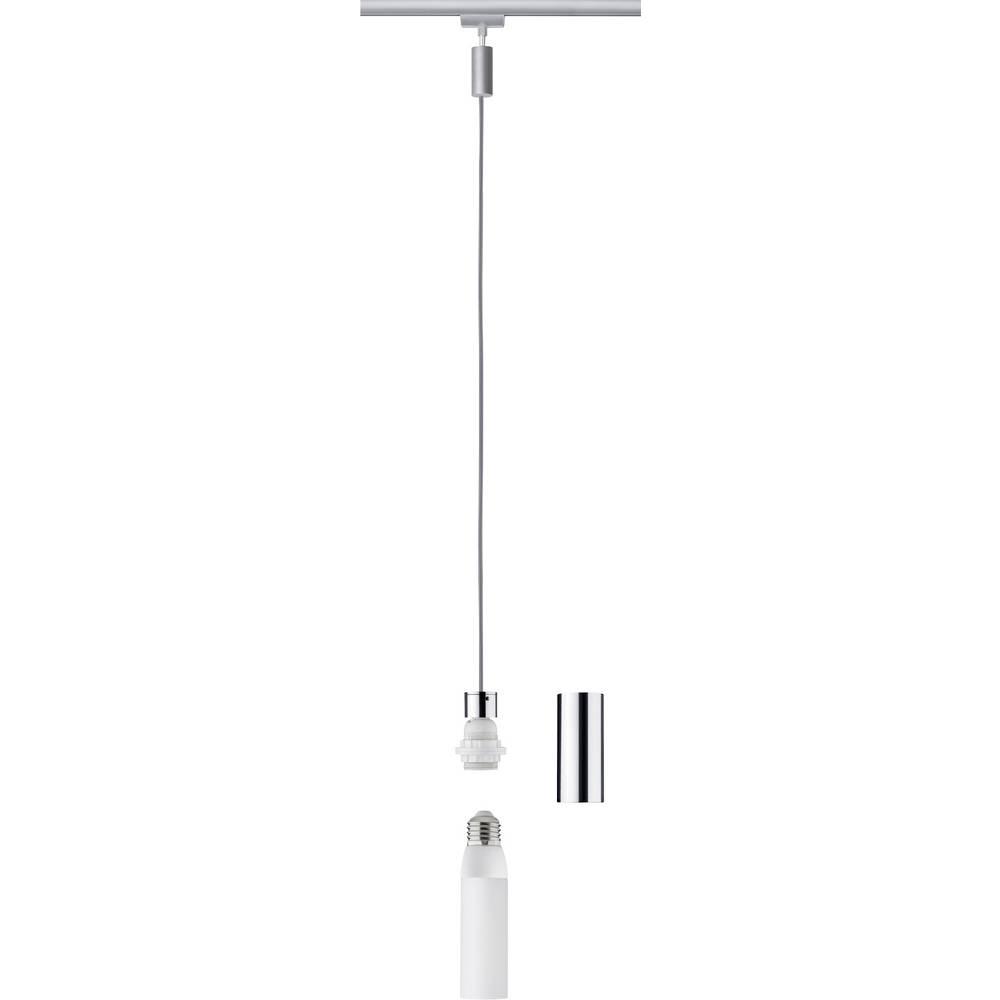 Paulmann svítidla do lištových systémů (230 V) univerzální E27 20 W LED chrom, chrom (matný)
