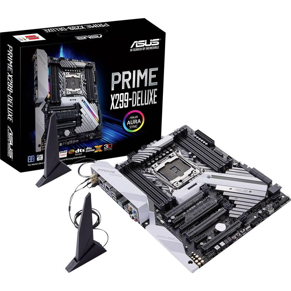 Asus Prime X299-Deluxe Základní deska Socket Intel® 2066 Tvarový faktor ATX Čipová sada základní desky Intel® X299