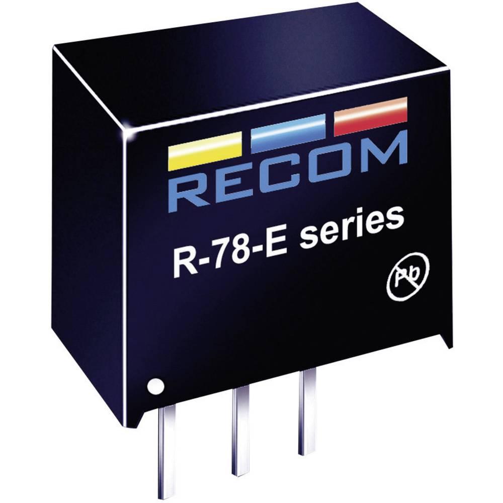 RECOM R-78E5.0-0.5 DC/DC měnič napětí do DPS 24 V/DC 5 V/DC 500 mA Počet výstupů: 1 x