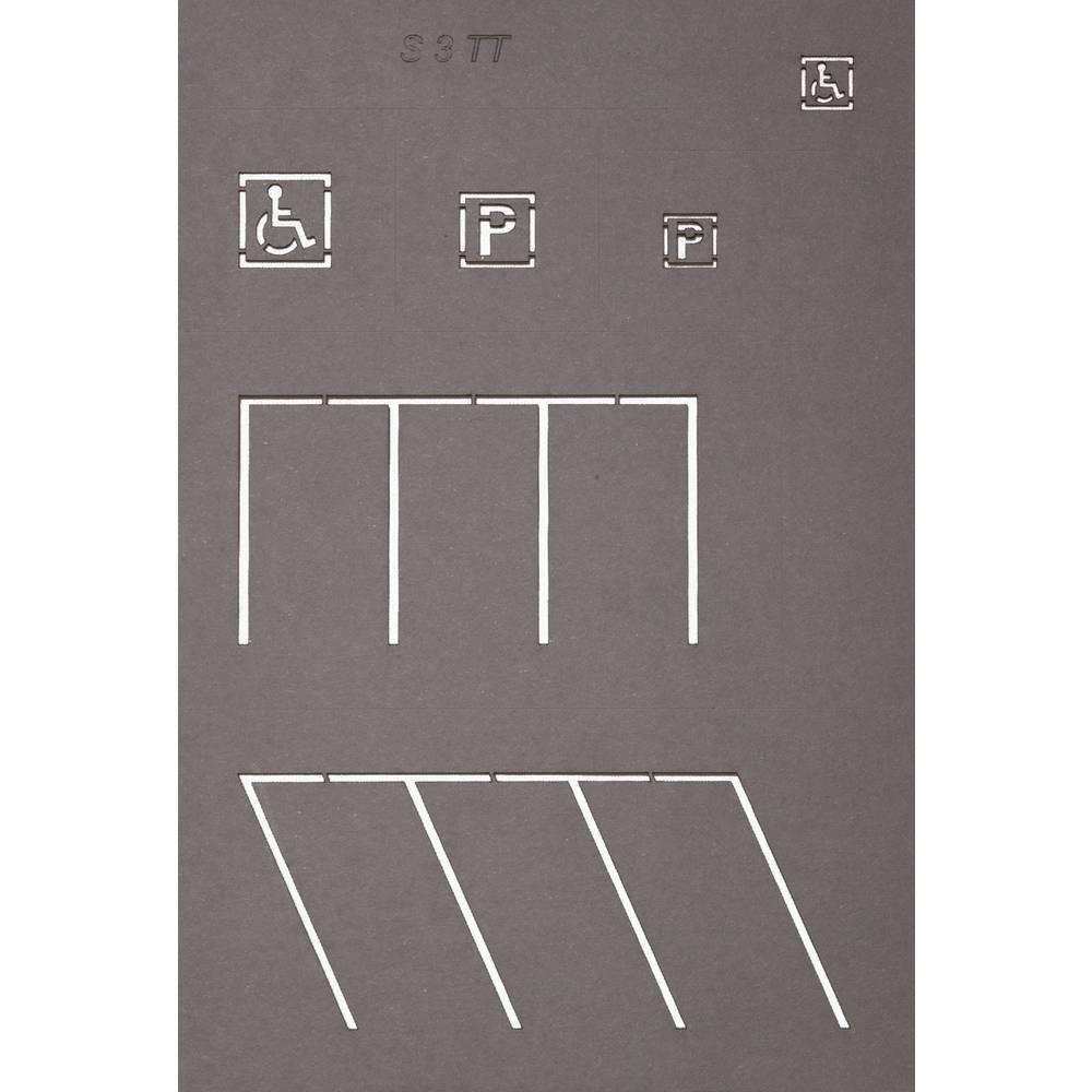 NOCH 48600 TT šablony pro silniční značení