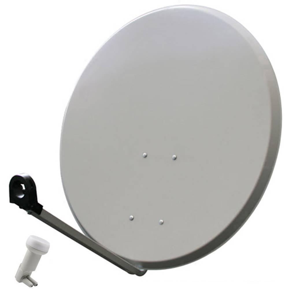Smart DA-80TE satelit bez přijímače Teilnehmer-Anzahl 80 cm