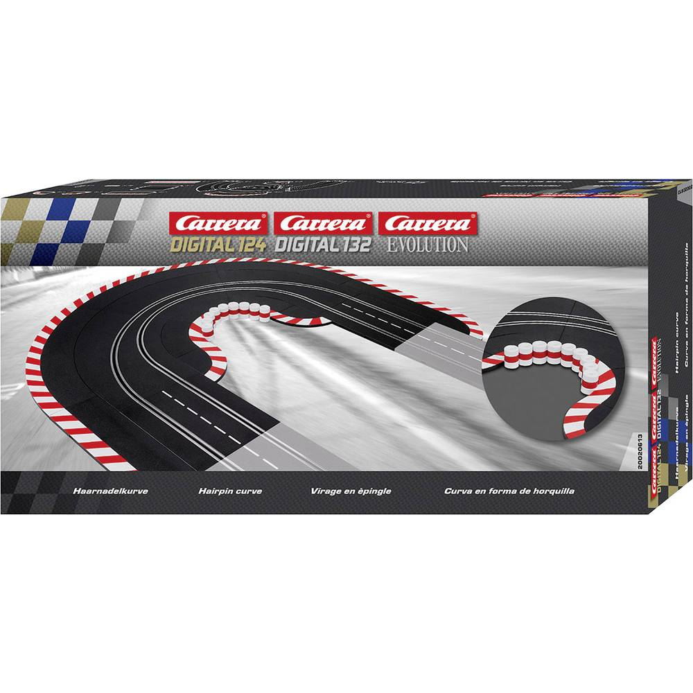 Carrera 20020613 DIGITAL 132, Evolution vlásenka (zatáčka) 1 ks