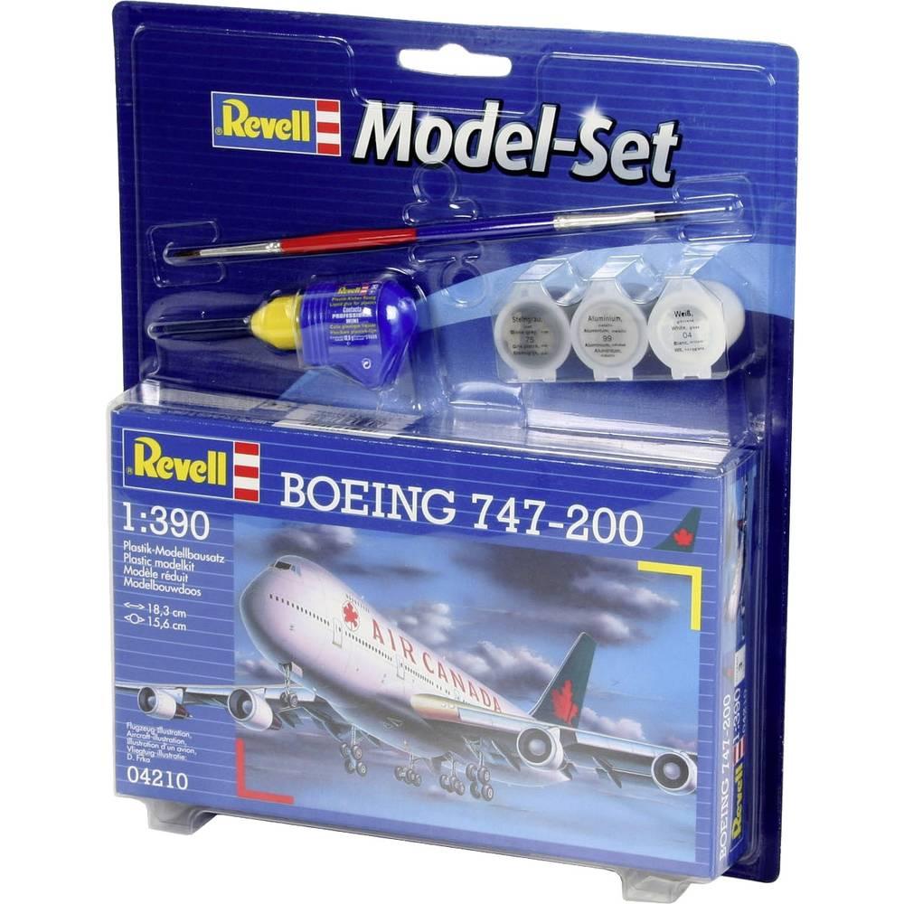 Revell 64210 Boeing 747-200 Air Canada model letadla, stavebnice 1:390