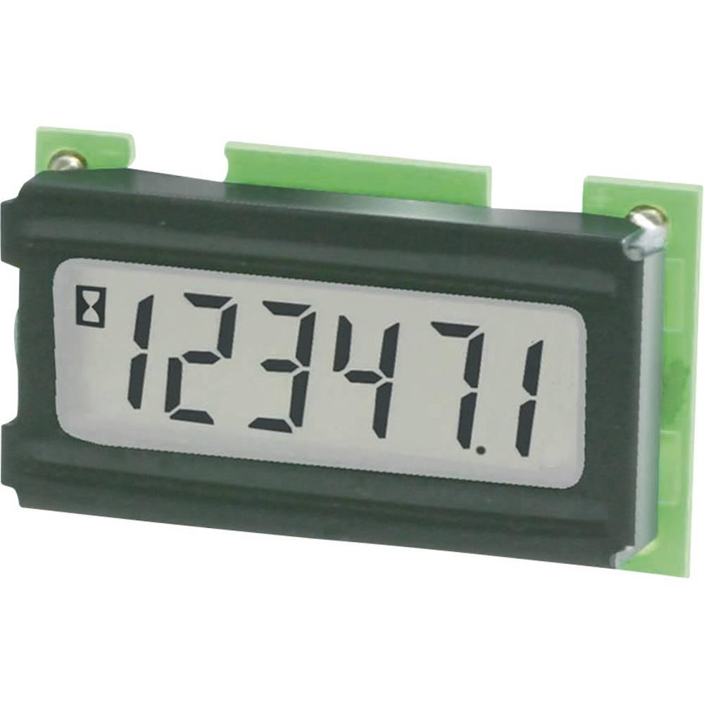 Kübler 6.198.012.H00 digitální panelový měřič Časové počítadlo modul typu 198 pro montáži desky s tištěnými spoji