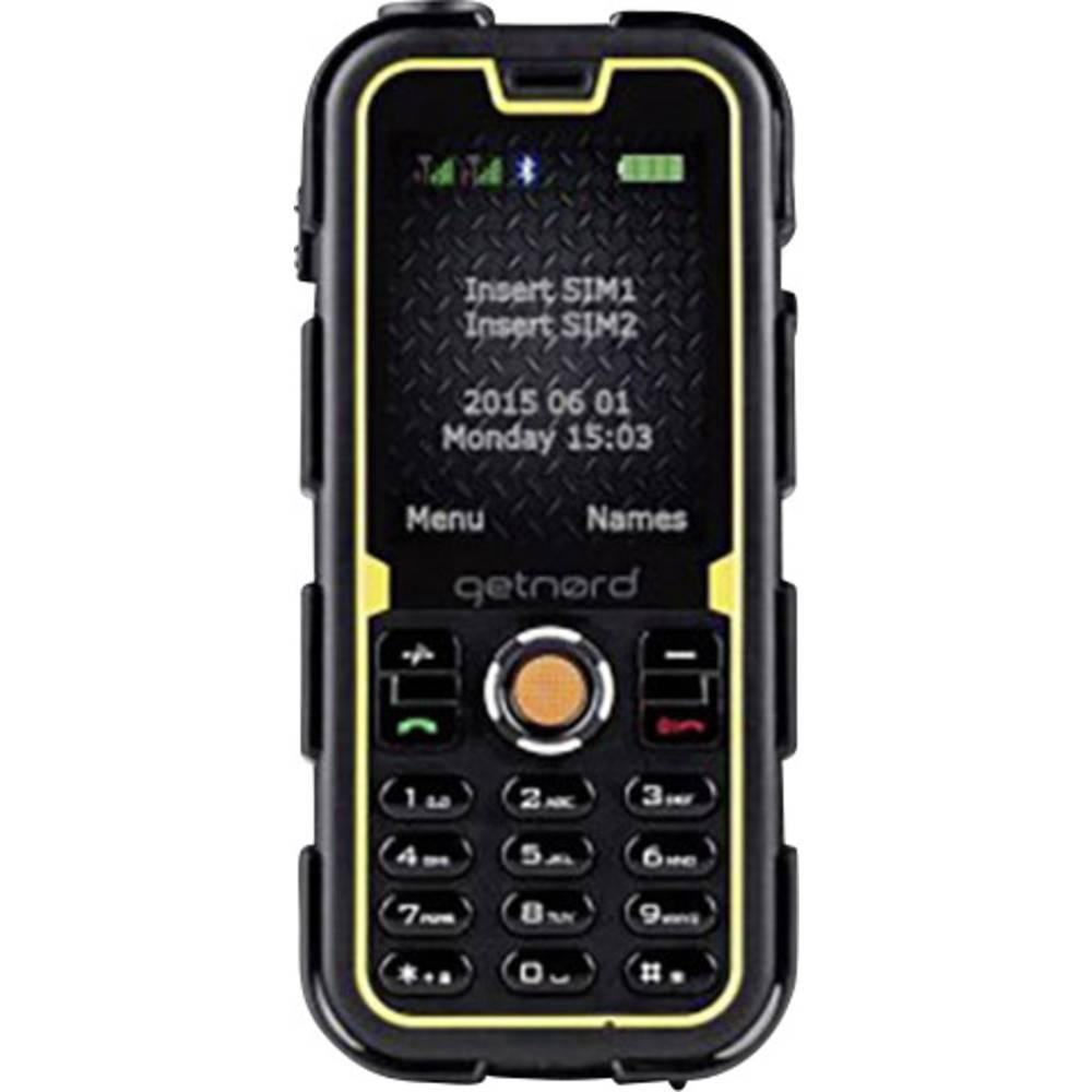 getnord Walrus outdoorový mobilní telefon černá, žlutá