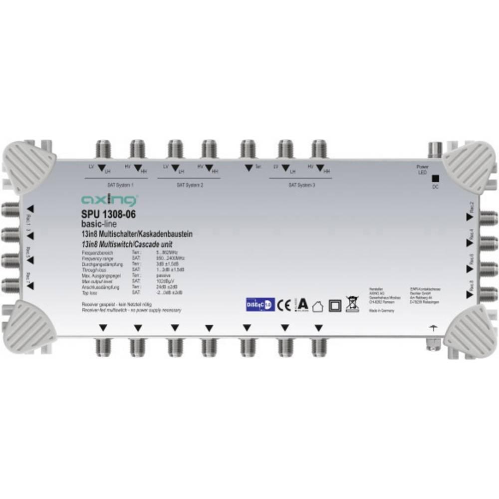 Axing SPU 1308-06 kaskádový rozdělovač pro satelitní signál Počet účastníků: 8