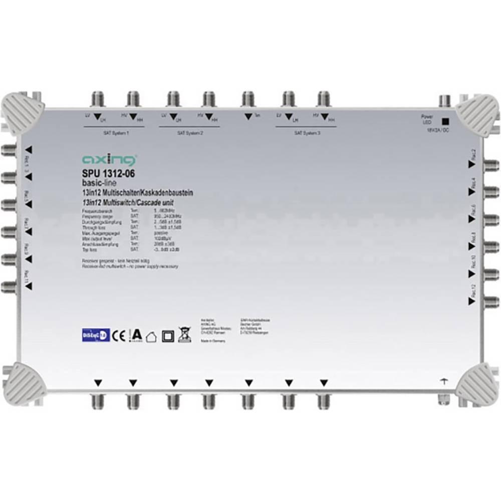Axing SPU 1312-06 kaskádový rozdělovač pro satelitní signál Počet účastníků: 12