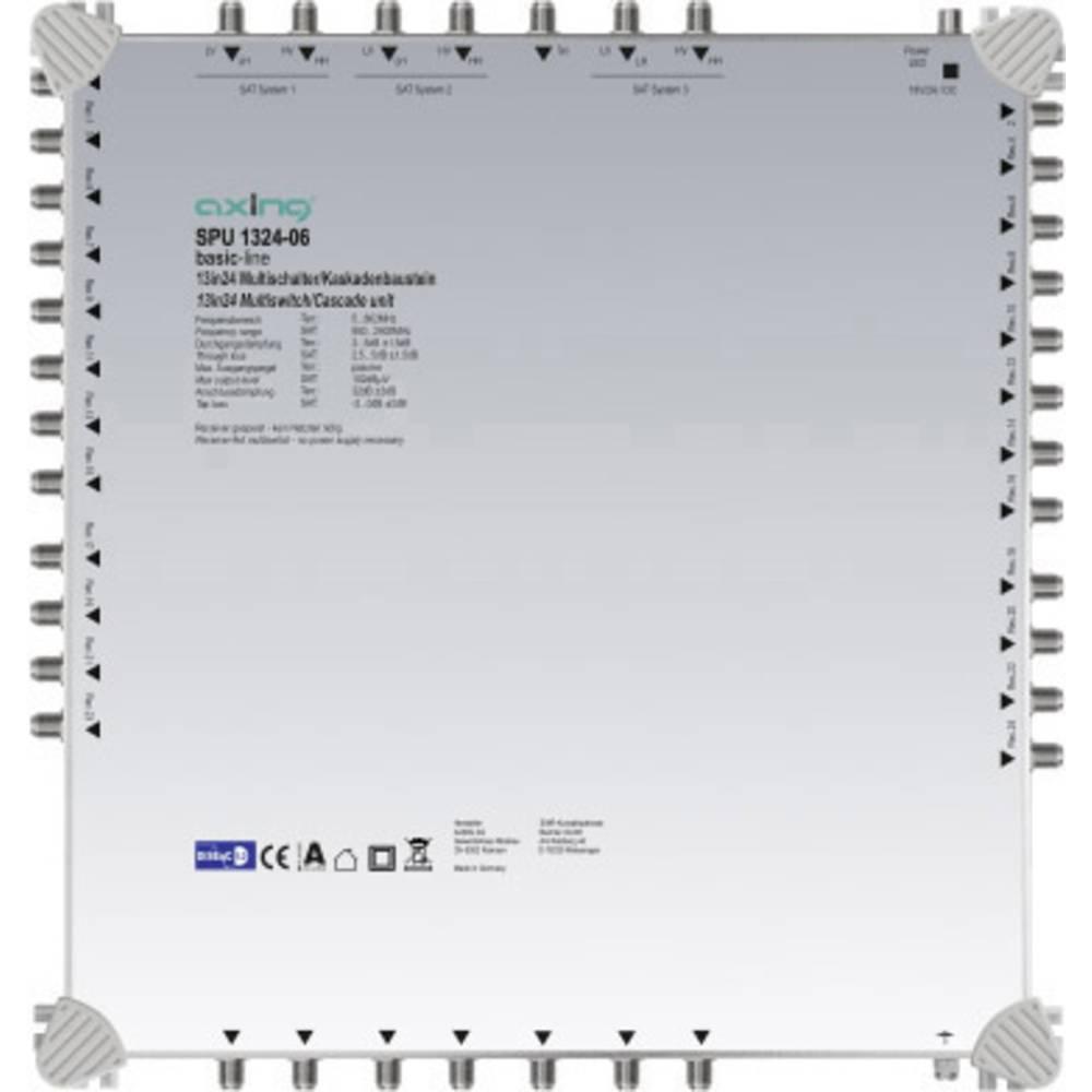 Axing SPU 1324-06 kaskádový rozdělovač pro satelitní signál Počet účastníků: 24