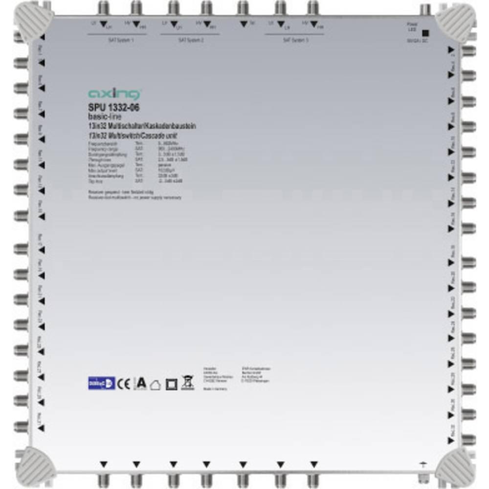 Axing SPU 1332-06 kaskádový rozdělovač pro satelitní signál Počet účastníků: 32