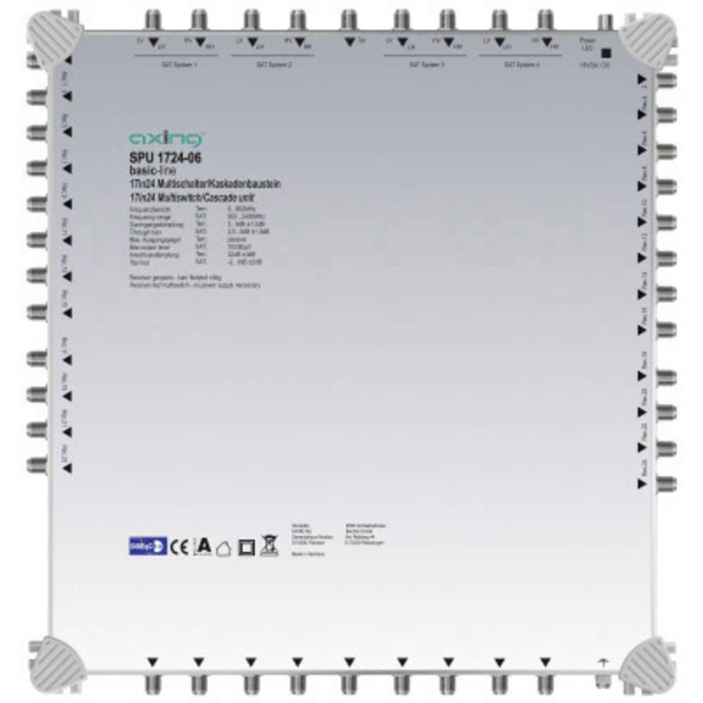 Axing SPU 1724-06 kaskádový rozdělovač pro satelitní signál Počet účastníků: 24