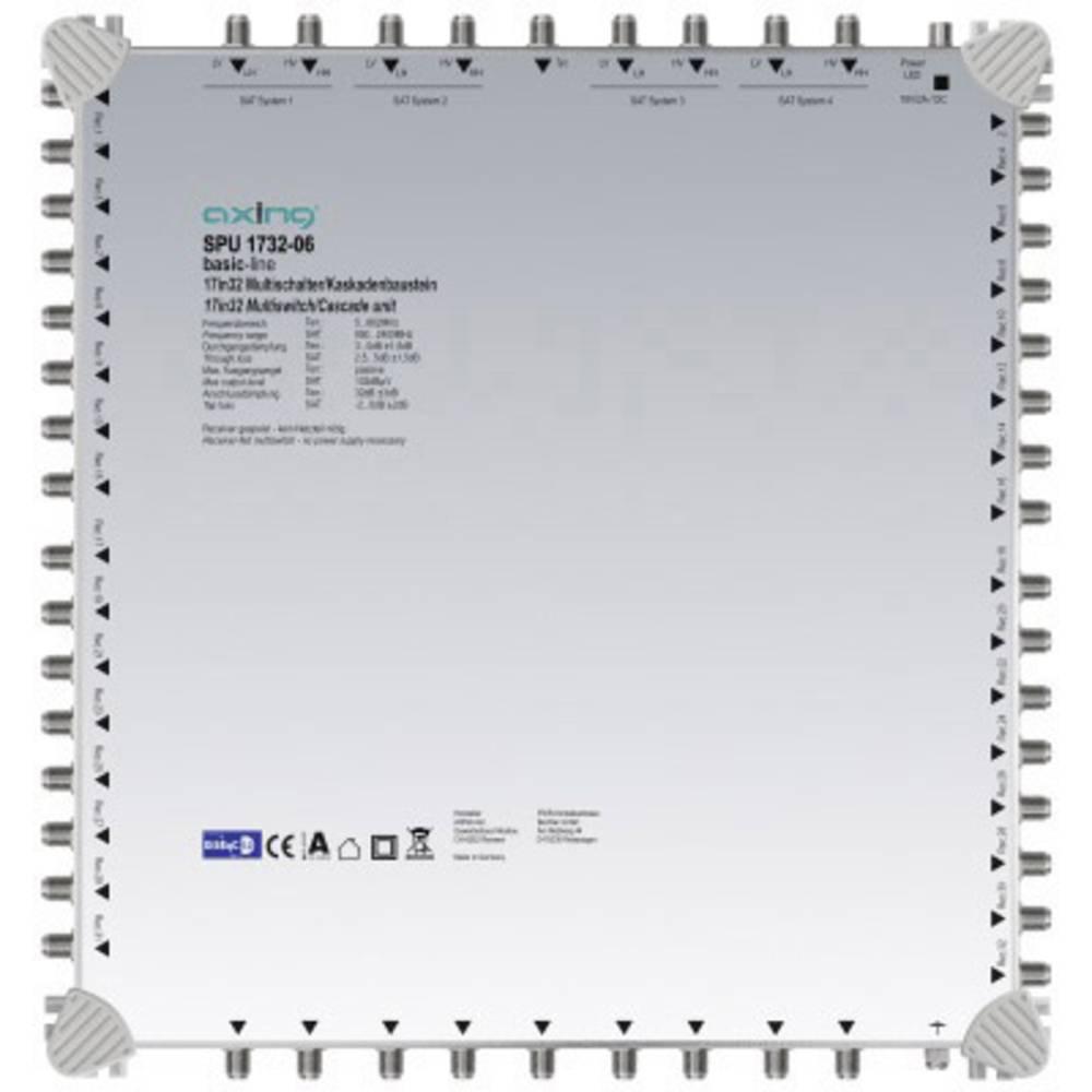 Axing SPU 1732-06 kaskádový rozdělovač pro satelitní signál Počet účastníků: 32