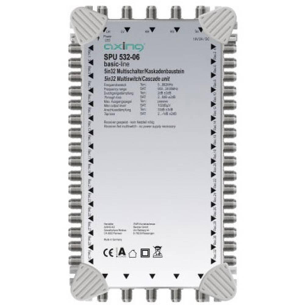 Axing SPU 532-06 kaskádový rozdělovač pro satelitní signál Počet účastníků: 32