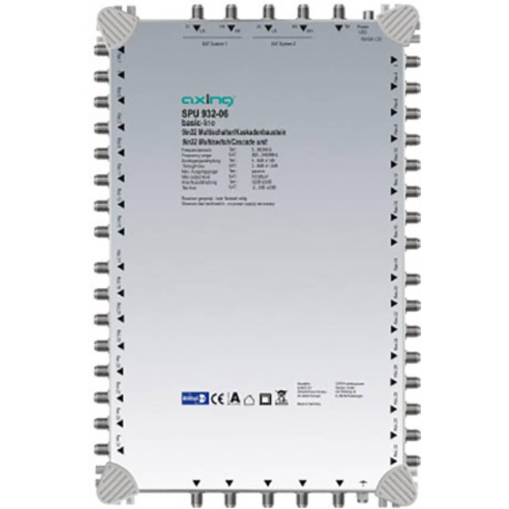 Axing SPU 932-06 kaskádový rozdělovač pro satelitní signál Počet účastníků: 32