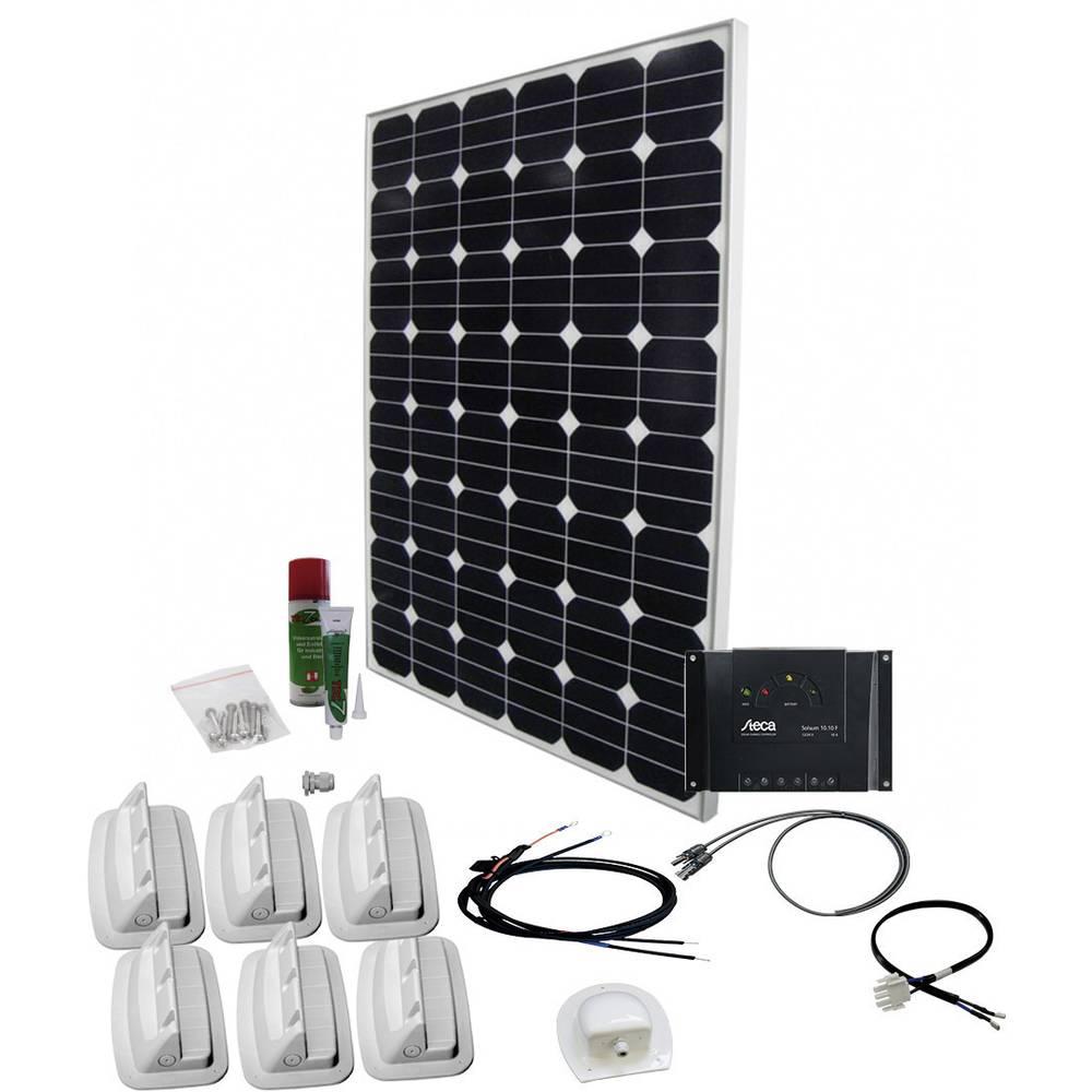 solární sada s 230V zásuvkou Phaesun SPR Caravan Peak Seven 2.0 600334, 160 Wp