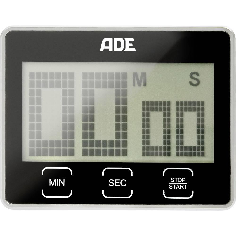 ADE TD 1203 stopky (časovač) černá digitální