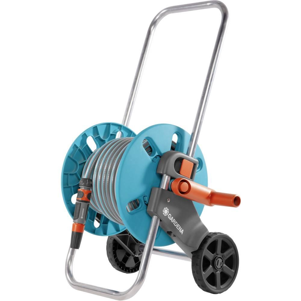 GARDENA AquaRoll S Set 18502-20 13 mm 1/2 palec 20 m šedá, tyrkysová, oranžová navíjecí vozík pro zahradní hadici