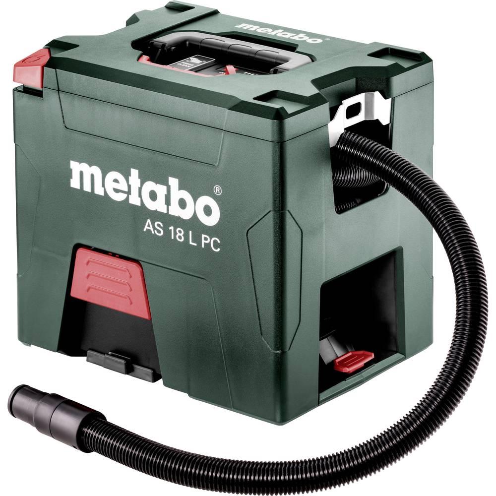 Metabo AS 18 L PC 602021000 suchý vysavač sada 7.50 l vč. 2 akumulátorů, prachová třída L certifikováno