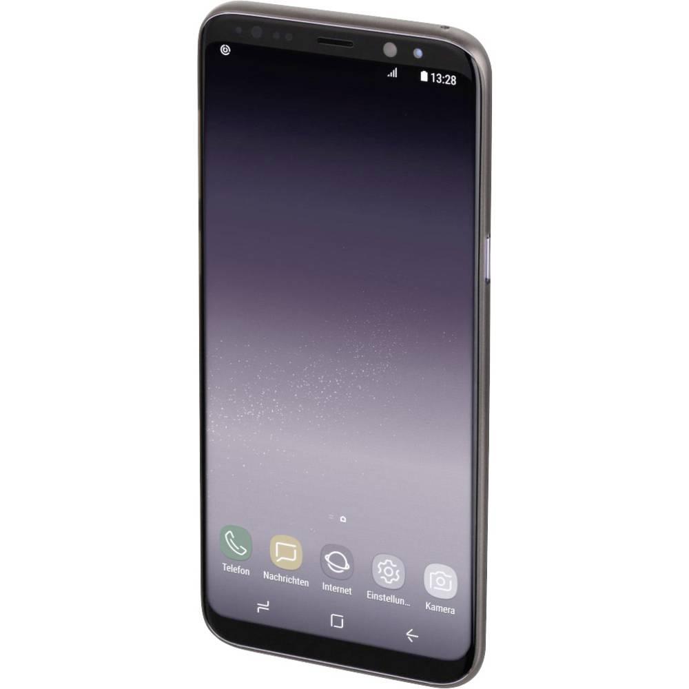 Hama Ultra Slim zadní kryt na mobil Samsung Galaxy S9 černá (transparentní)