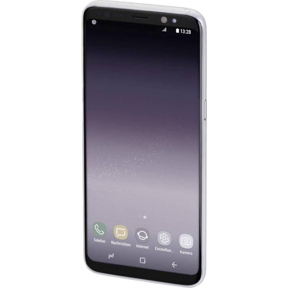 Hama Ultra Slim Booklet Samsung Galaxy S9 bílá (transparentní)