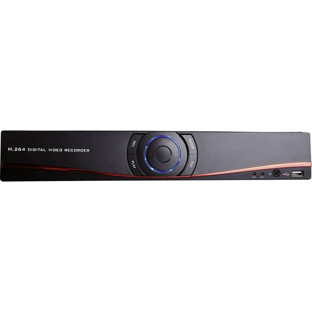 m-e modern-electronics 55327 DVR 3008 síťový IP videorekordér (NVR) pro bezp. kamery
