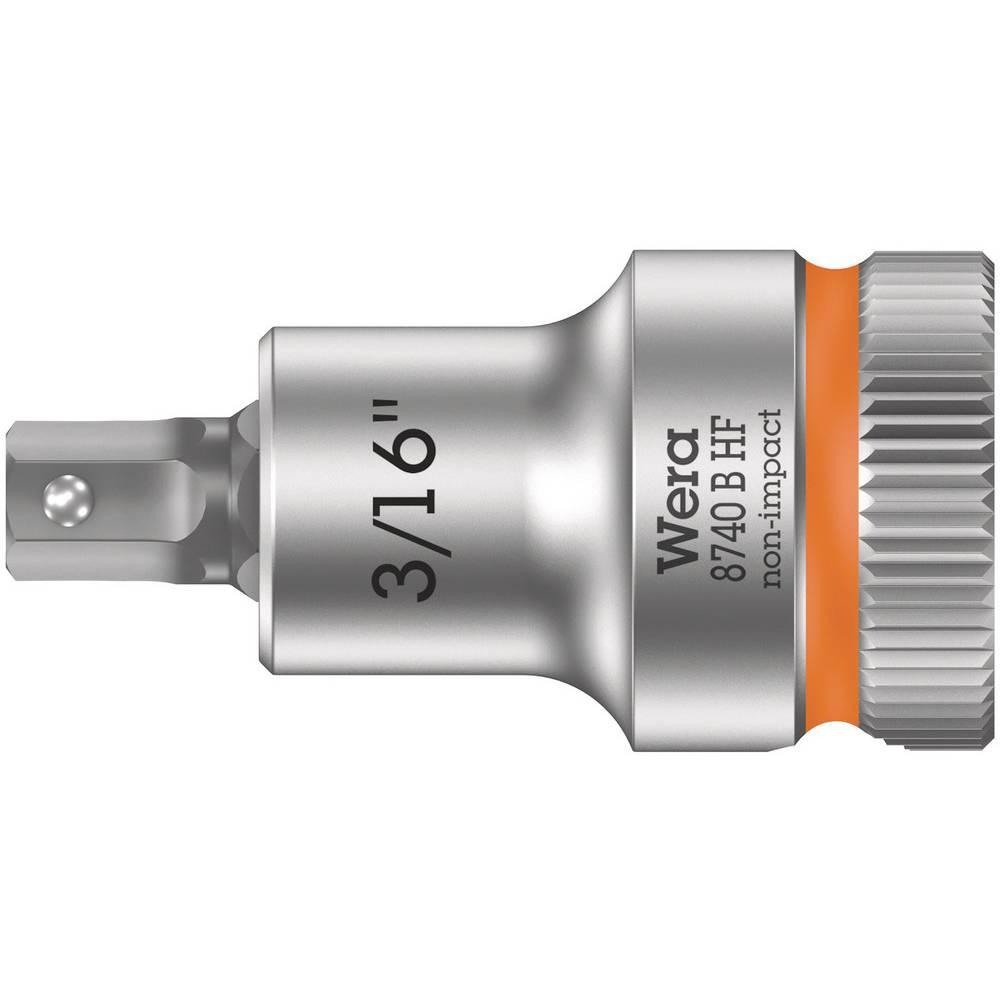 """Wera 8740 B HF 05003085001 vnější šestihran vložka pro nástrčný klíč 3/16"""" 3/8"""""""
