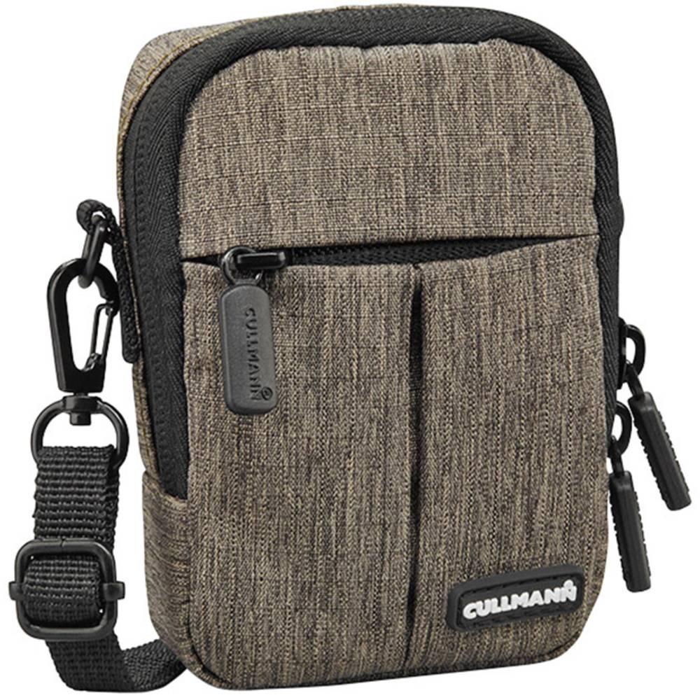 Cullmann MALAGA Compact 200 brašna na kameru Vnitřní rozměr (Š x V x H) 7 x 10 x 3 cm ochrana proti dešti hnědá