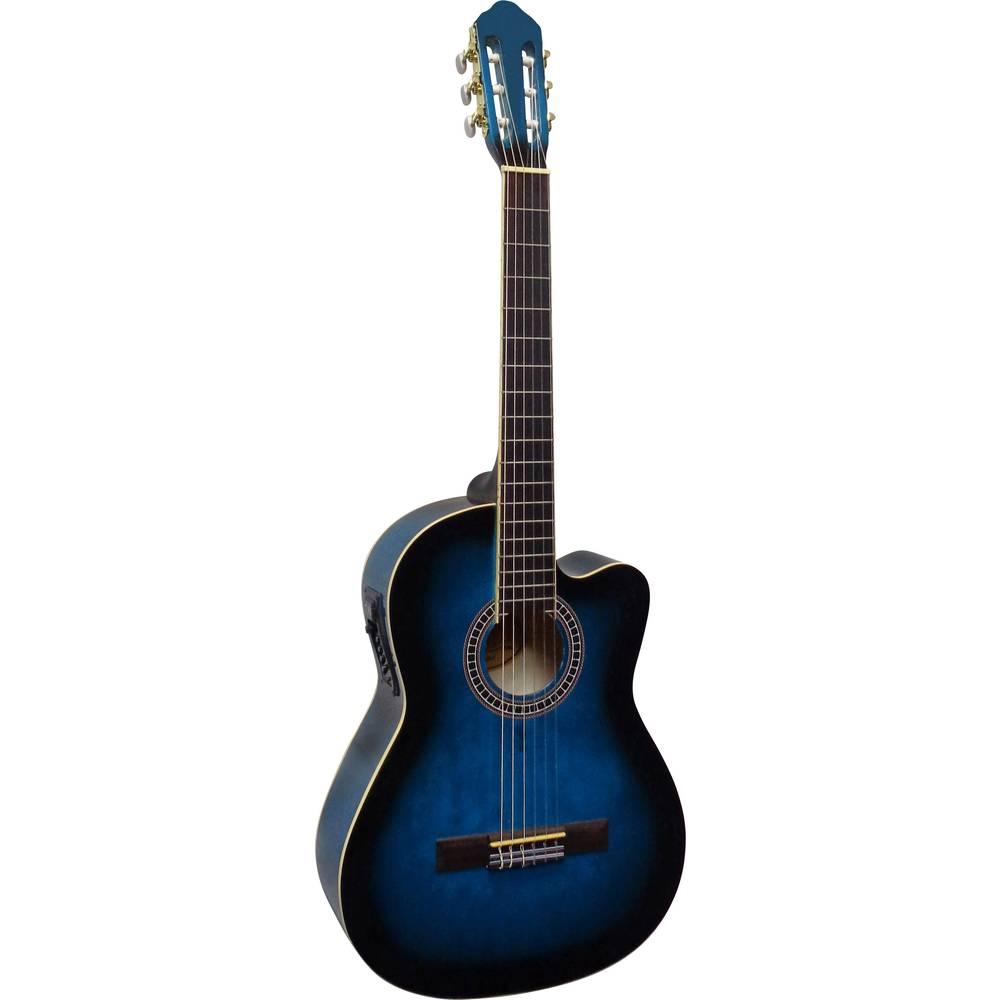 MSA Musikinstrumente CK 113 koncertní kytara 4/4 modrá