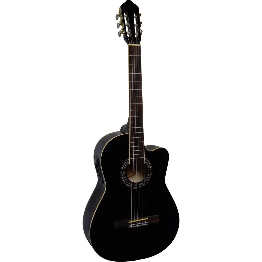 MSA Musikinstrumente CK 111 koncertní kytara 4/4 černá