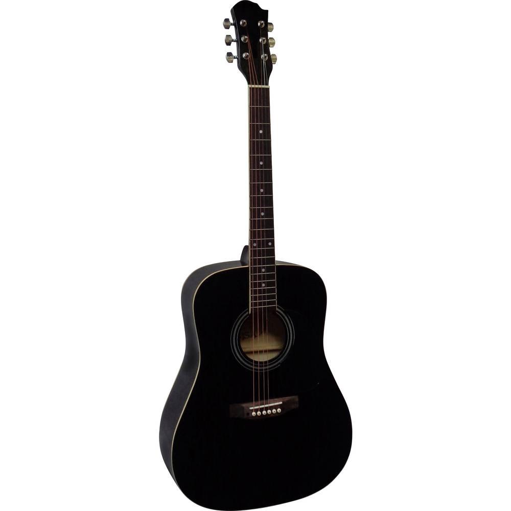 MSA Musikinstrumente CW 170 westernová kytara 4/4 černá