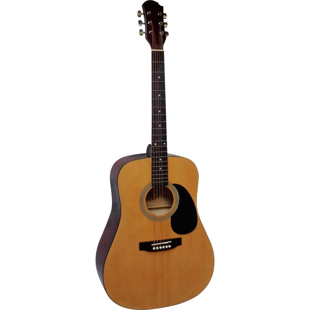MSA Musikinstrumente CW 200 westernová kytara 4/4 přírodní