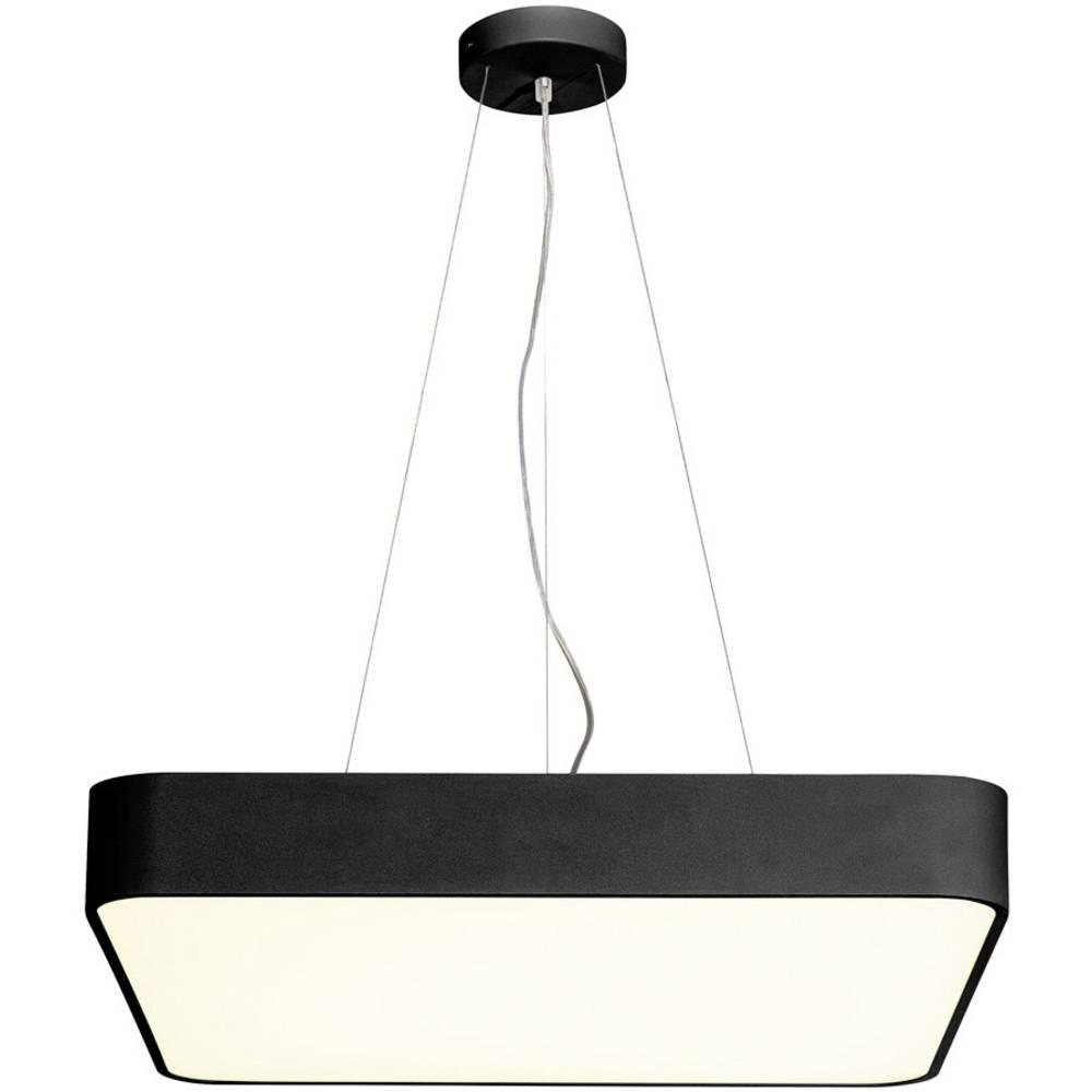 SLV 1000725 LED stropní svítidlo černá 39 W