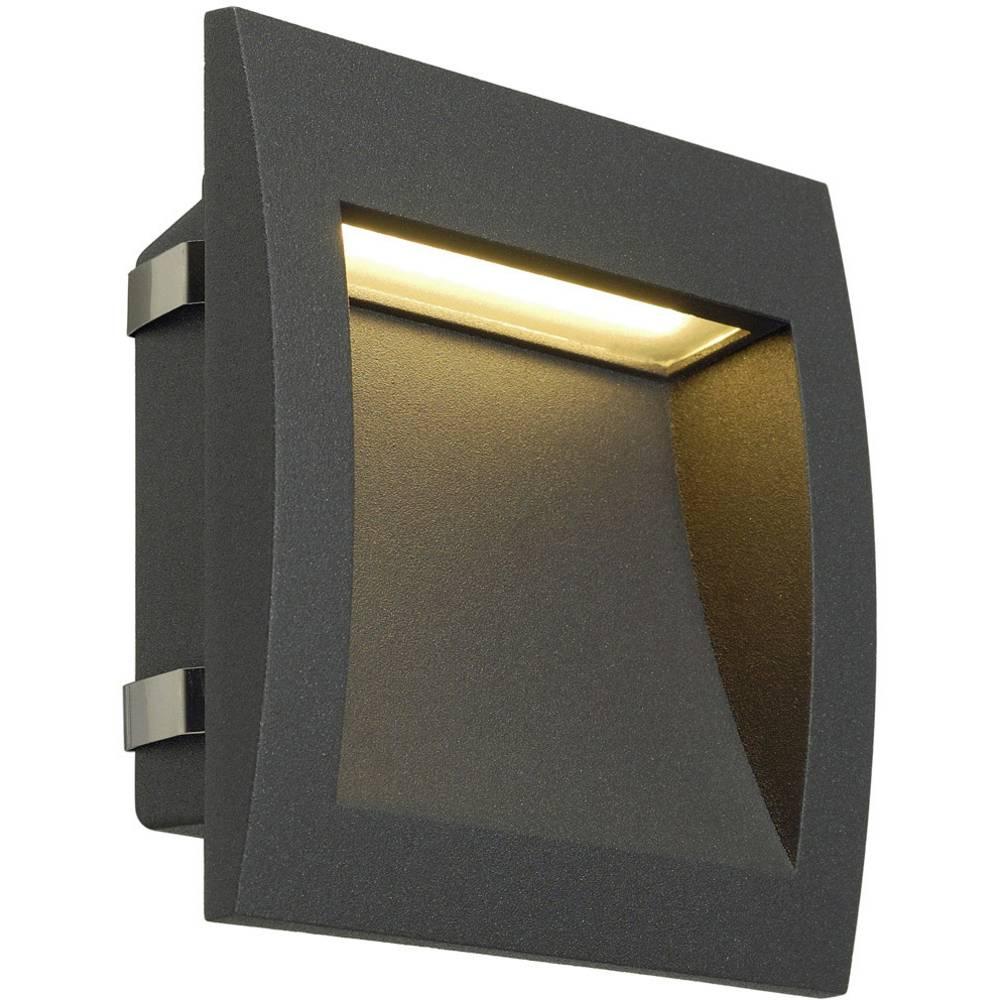 SLV 233615 venkovní vestavné LED osvětlení 3.3 W antracitová