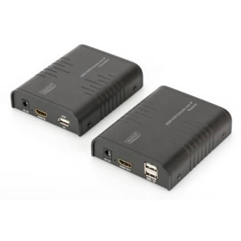 Digitus DS-55202 HDMI™, USB extender (prodloužení) přes síťový kabel RJ45