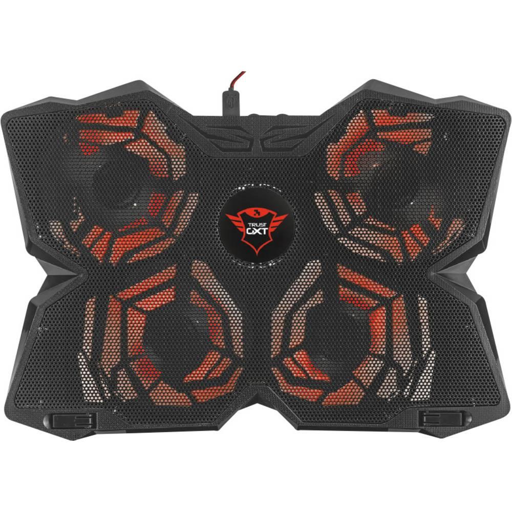 Trust GXT 278 Yozu chladicí podložka pod notebook nastavitelná výška, regulovatelný ventilátor
