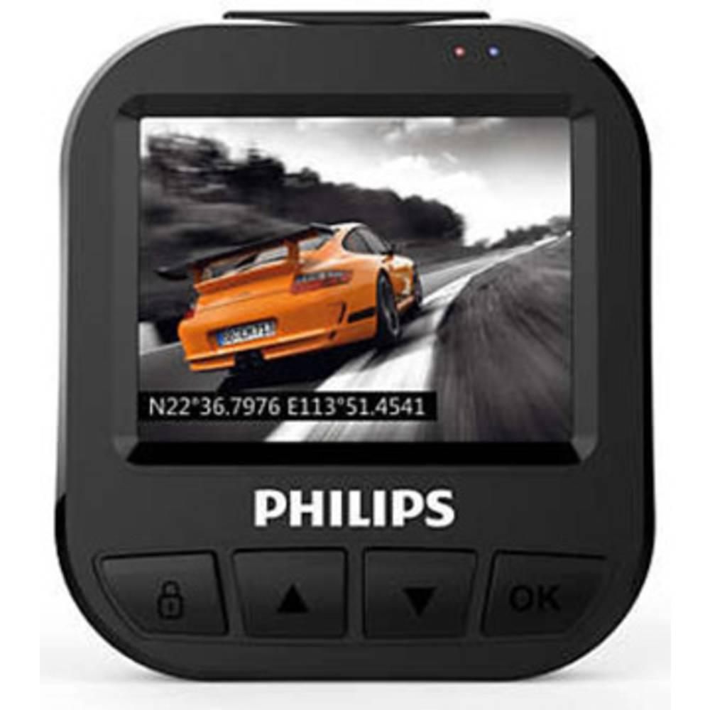 Philips ADR620 kamera za čelní sklo Horizontální zorný úhel=120 ° displej