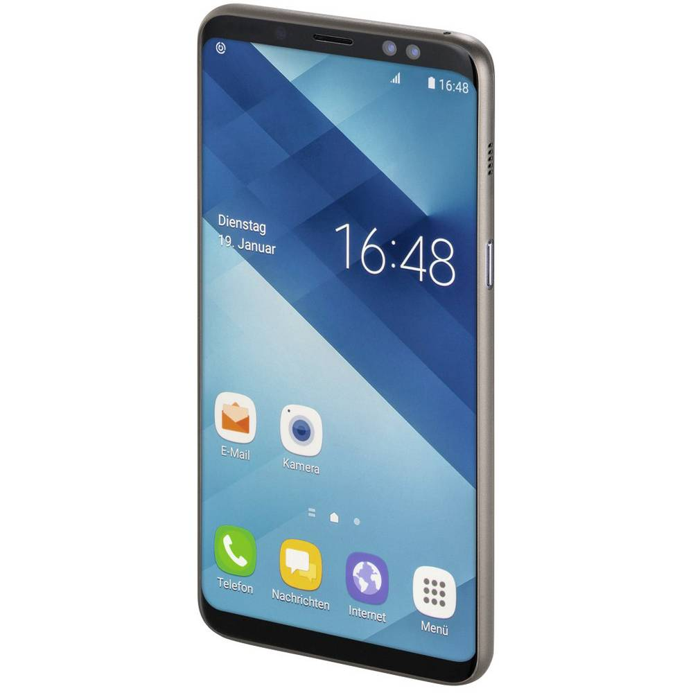 Hama Ultra Slim zadní kryt na mobil Samsung Galaxy A6 Plus (2018) černá