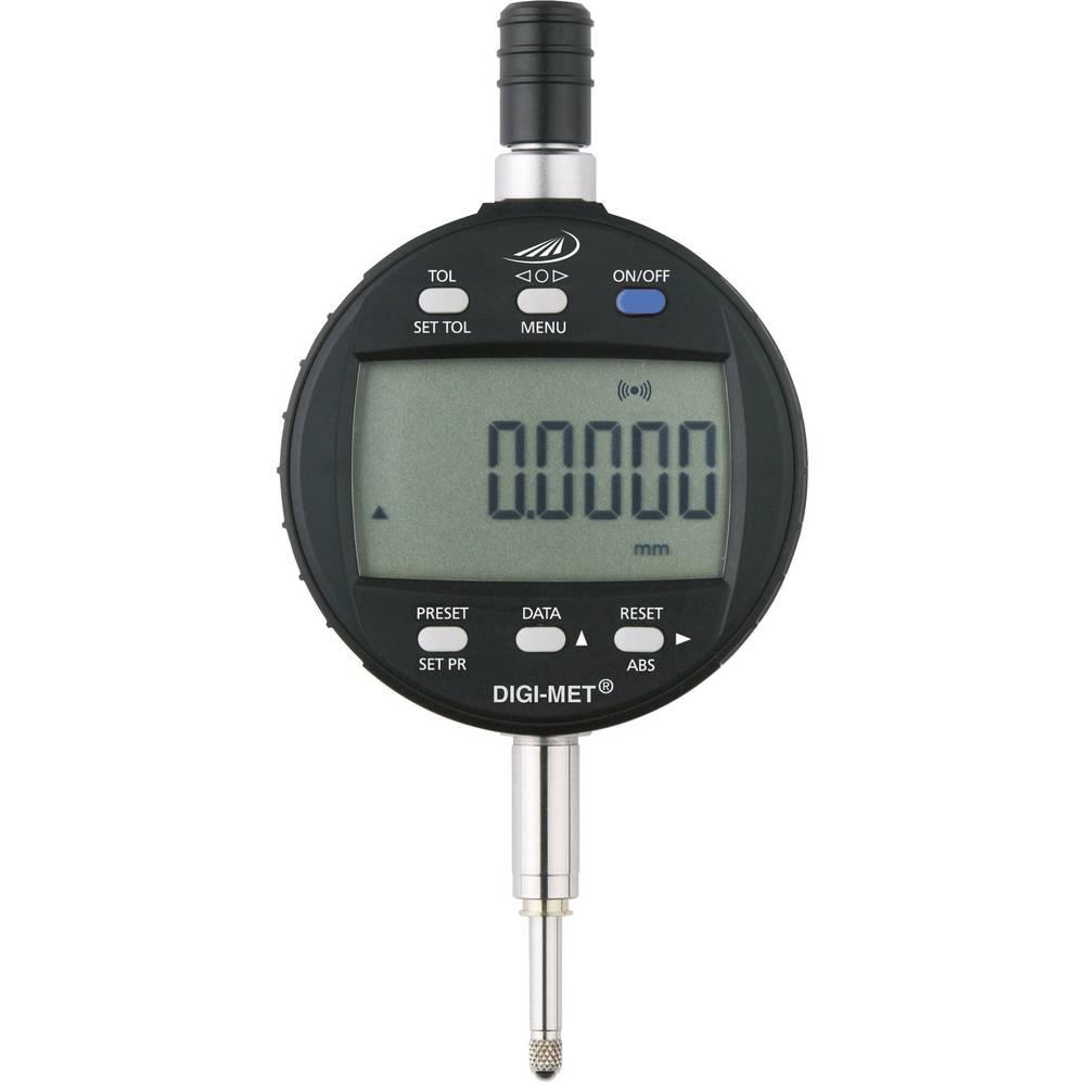HELIOS PREISSER 172650260 stopky s digitálním displejem 12.5 mm Odečet: 0.001 mm