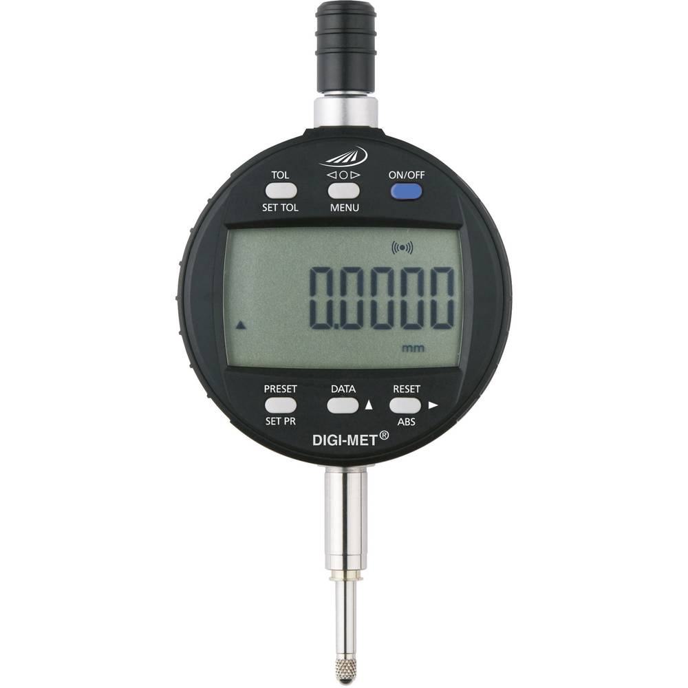 HELIOS PREISSER 172650660 stopky s digitálním displejem 25 mm Odečet: 0.001 mm