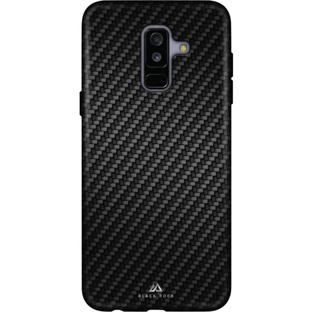Black Rock Flex Carbon zadní kryt na mobil Samsung Galaxy A6 Plus (2018) černá