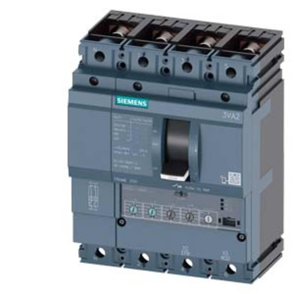 Siemens 3VA2216-7HM42-0LE0 výkonový vypínač 1 ks 4 přepínací kontakty Rozsah nastavení (proud): 63 - 160 A Spínací napětí (max.): 690 V/AC (š x v x h) 140 x 181 x 107 mm
