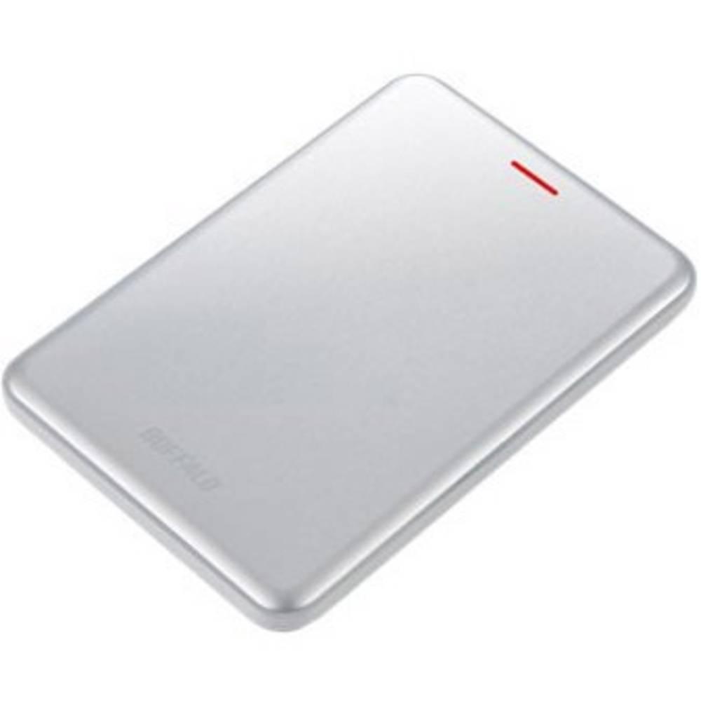 Buffalo MiniStation™ SSD Velocity 480 GB externí SSD disk USB 3.1 stříbrná SSD-PUS480U3S-EU